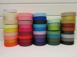 22mm Grosgrain Ribbon 2 metres or 20 metre roll double sided Ribbed